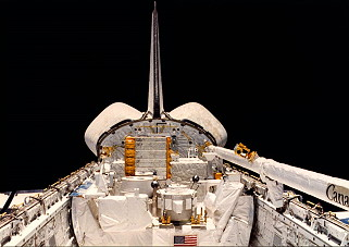STS-3 in orbit