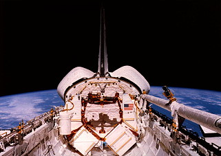 STS-41C in orbit