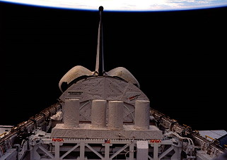 STS-61C im Orbit