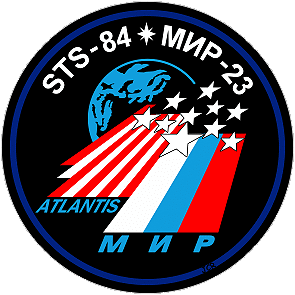 STS-84-Mir-23 patch